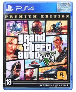 Grand Theft Auto V Premium Edition (PS4/PS5) (Російська озвучка)