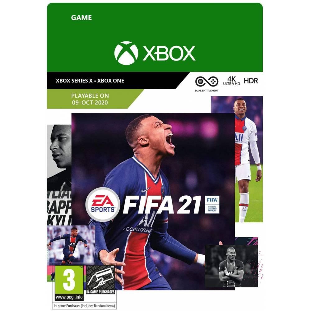 FIFA21 (XBOX ONE/SERIES) (Цифрова версія) (Російська версія) (FIFA21 (XBOX ONE/SERIES) (DIGITAL) (RU)) фото 2