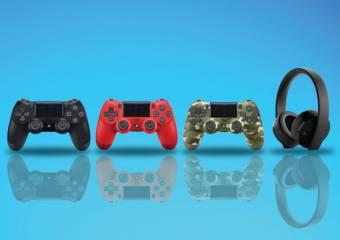 Аксесуари до PlayStation 4