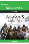 Assassin's Creed Triple Pack (Чорний прапор, Єдність, Синдикат 3в1) (XBOX ONE/SERIES) (Цифрова версія) (Російська озвучка) (Assassin's Creed Triple Pack (XBOX ONE/SERIES) (DIGITAL) (RU)) фото 2