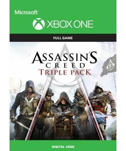 Assassin's Creed Triple Pack (Чорний прапор, Єдність, Синдикат 3в1) (XBOX ONE/SERIES) (Цифрова версія) (Російська озвучка)