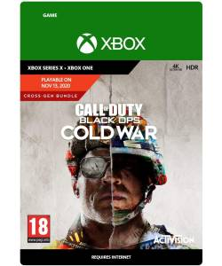 Call of Duty: Black Ops Cold War - Standard Edition(2019) (XBOX ONE/SERIES) (Цифрова версія) (Російська озвучка)