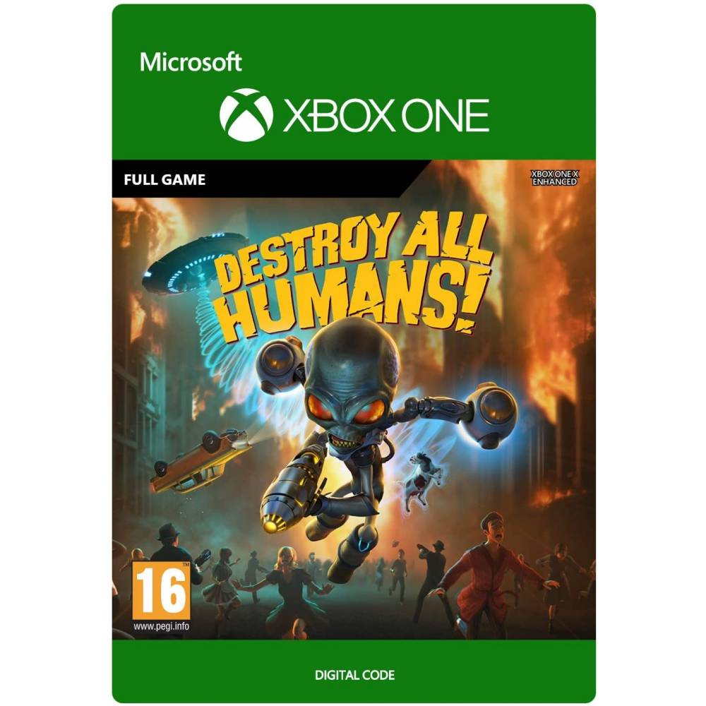 Destroy All Humans! (Уничтожь всех людей!) (XBOX ONE/SERIES) (Цифровая версия) (Русская версия) (Destroy All Humans! (XBOX ONE/SERIES) (DIGITAL) (RU)) фото 2