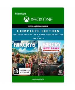Far Cry 5 + Far Cry New Dawn Deluxe Edition Bundle (XBOX ONE/SERIES) (Цифровая версия) (Русская версия)