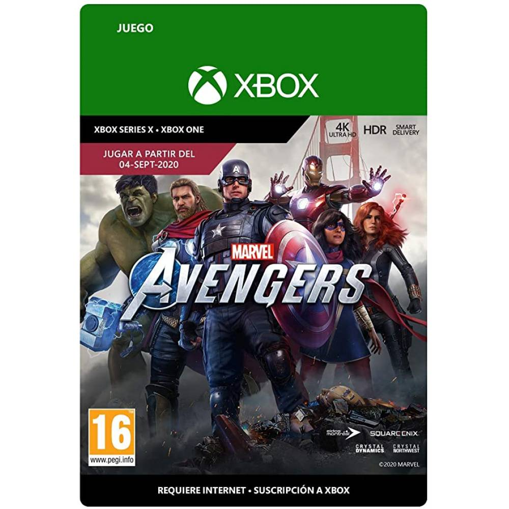Marvel's Avengers (Месники Marvel) (XBOX ONE/SERIES) (Цифрова версія) (Російська озвучка) (Marvel's Avengers (XBOX ONE/SERIES) (DIGITAL) (RU)) фото 2