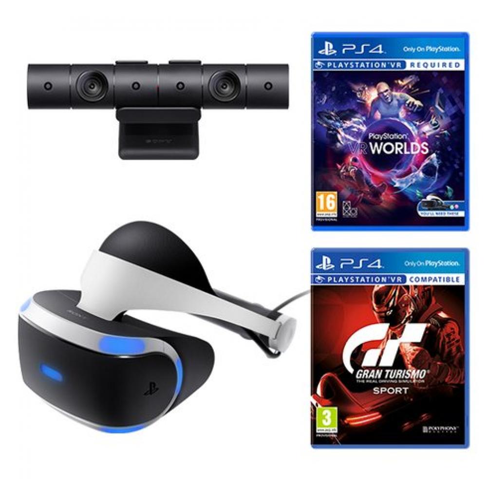 Playstation VR + Playstation Camera + Gran Turismo Sport + VR Worlds (Playstation VR + Playstation Camera + Gran Turismo Sport) фото 6