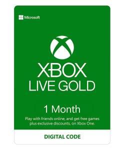 Підписка Xbox Live Gold на 1 місяць (EU/RU/USA)