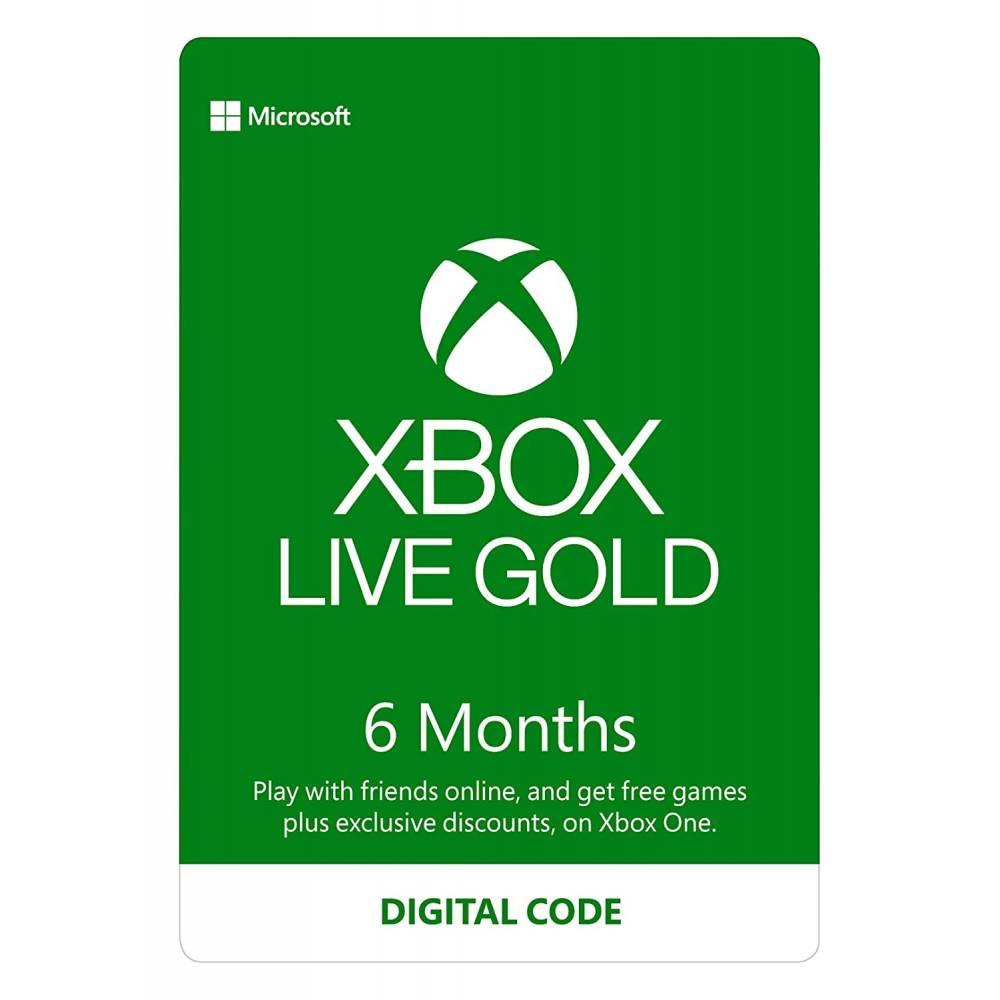 Підписка Xbox Live Gold на 6 місяців (EU/RU/USA) (Xbox Live Gold 6M EU/RU/USA) фото 2