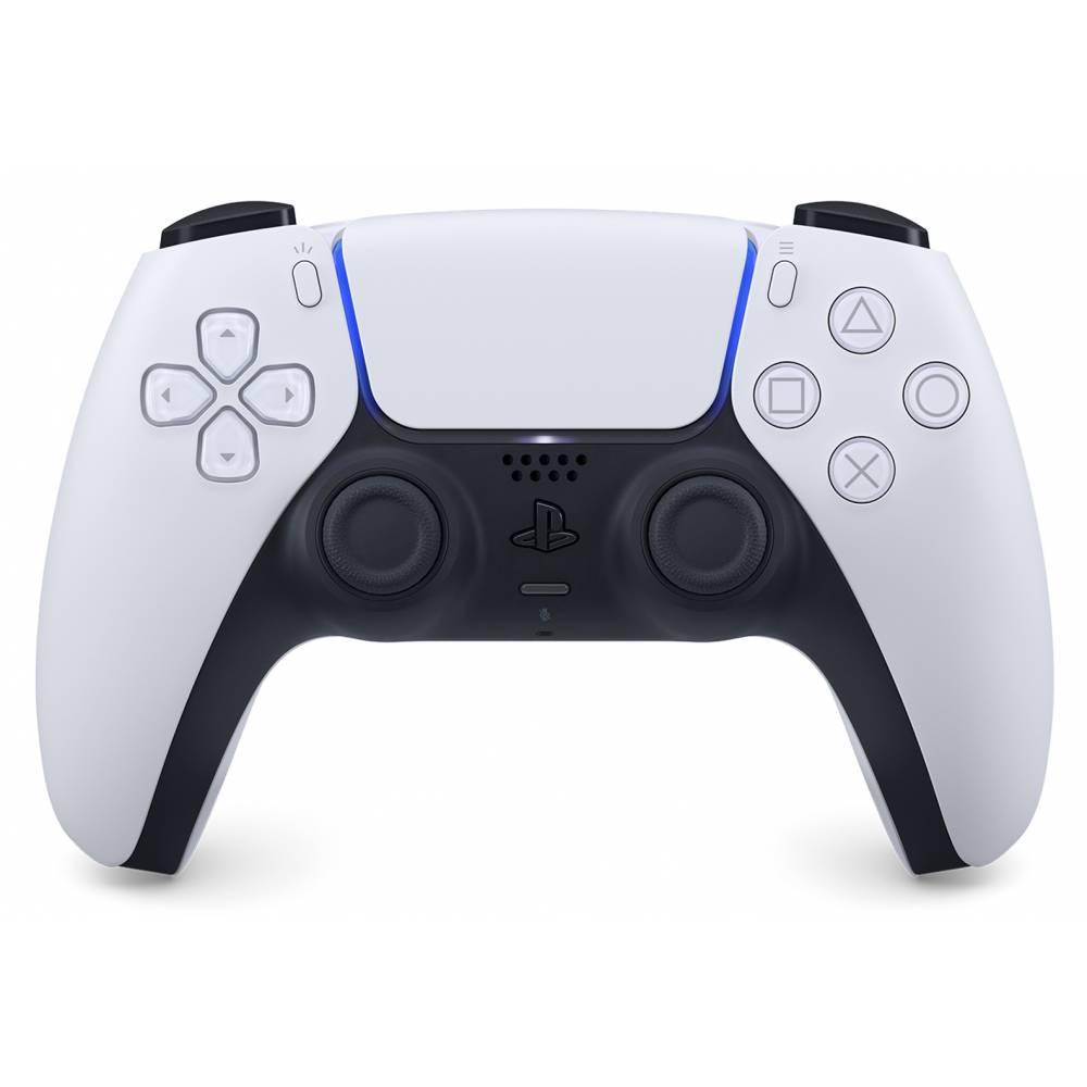 Геймпад DualSense Wireless Controller White/Black для PlayStation 5 (DualSense Wireless Controller White/Black for PlayStation 5) фото 2