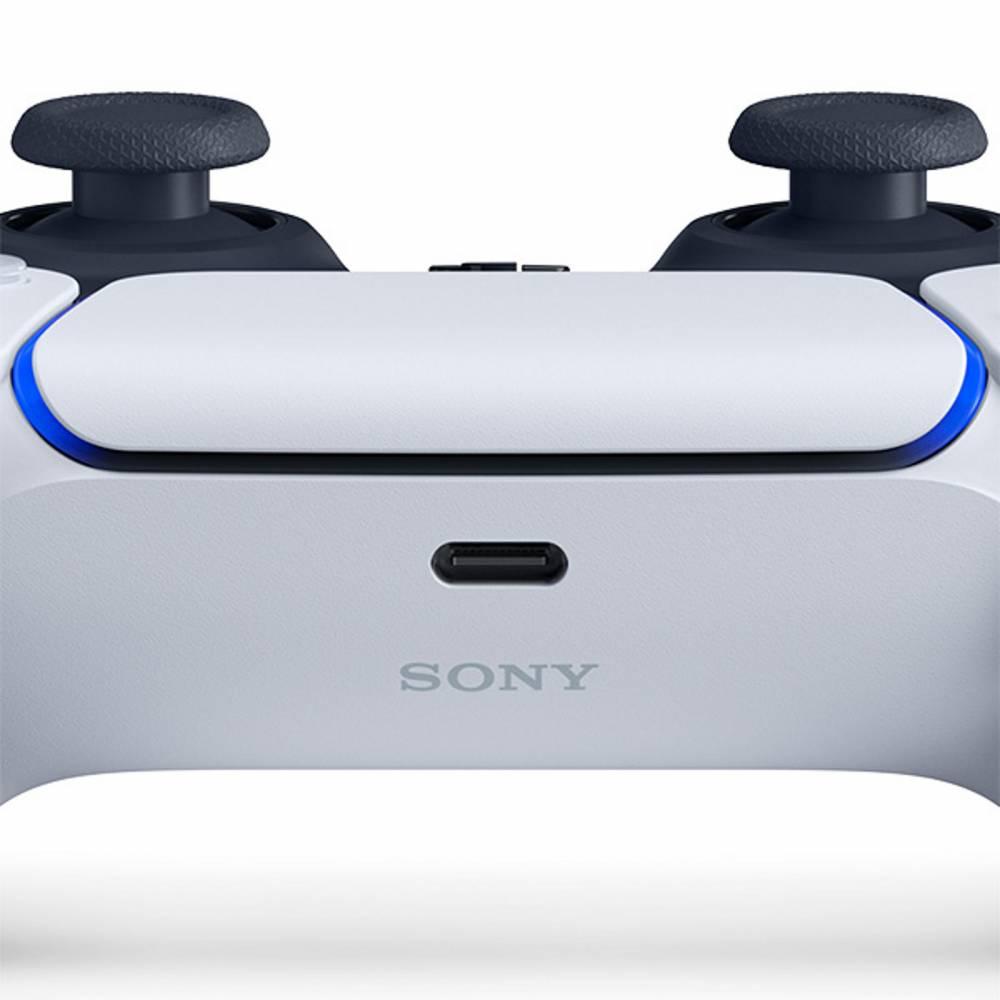 Геймпад DualSense Wireless Controller White/Black для PlayStation 5 (DualSense Wireless Controller White/Black for PlayStation 5) фото 5