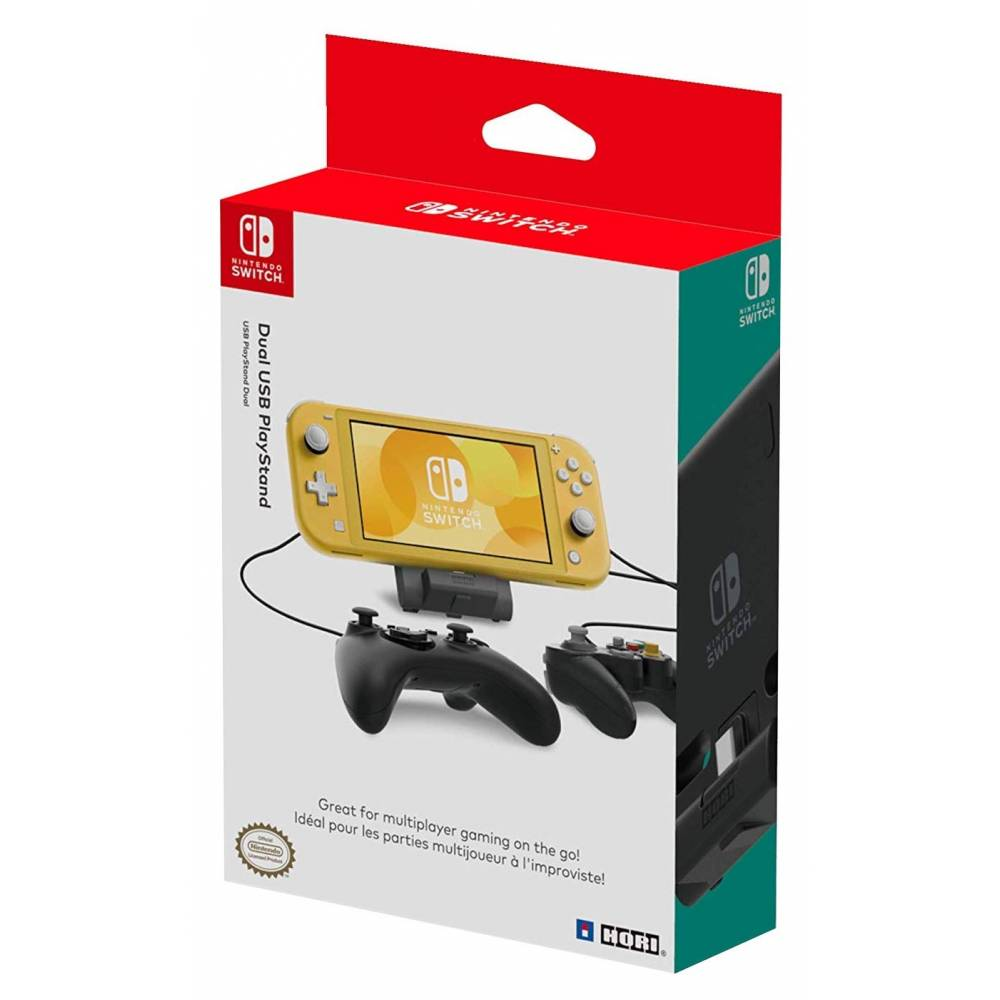 Подставка HORI Dual USB PlayStand для Nintendo Switch V1/V2/Lite (HORI Dual USB PlayStand for Nintendo Switch V1/V2/Lite) фото 6
