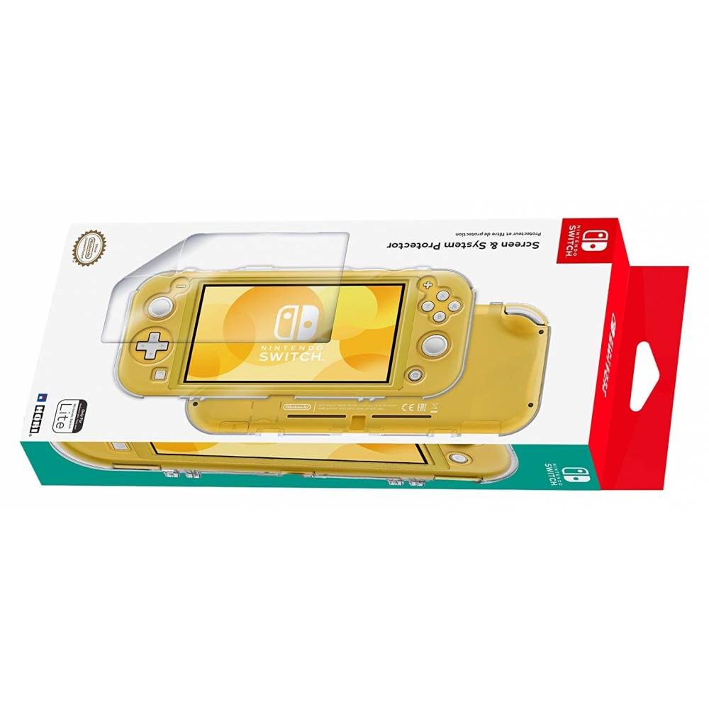 Чехол и защитная пленка HORI Screen and System Protector для Nintendo Switch Lite (HORI Screen and System Protector for Nintendo Switch Lite) фото 5