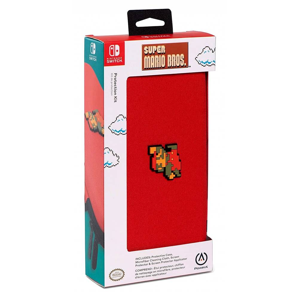Чехол PowerA Protection Kit (8-bit Mario design) для Nintendo Switch V1/V2 (PowerA Protection Kit 8-bit Mario for Nintendo Switch V1/V2) фото 4