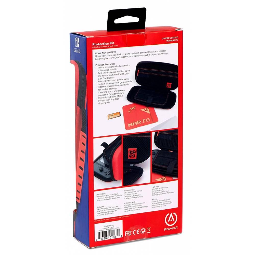 Чохол PowerA Protection Kit (8-bit Mario design) для Nintendo Switch V1/V2 (PowerA Protection Kit 8-bit Mario for Nintendo Switch V1/V2) фото 5