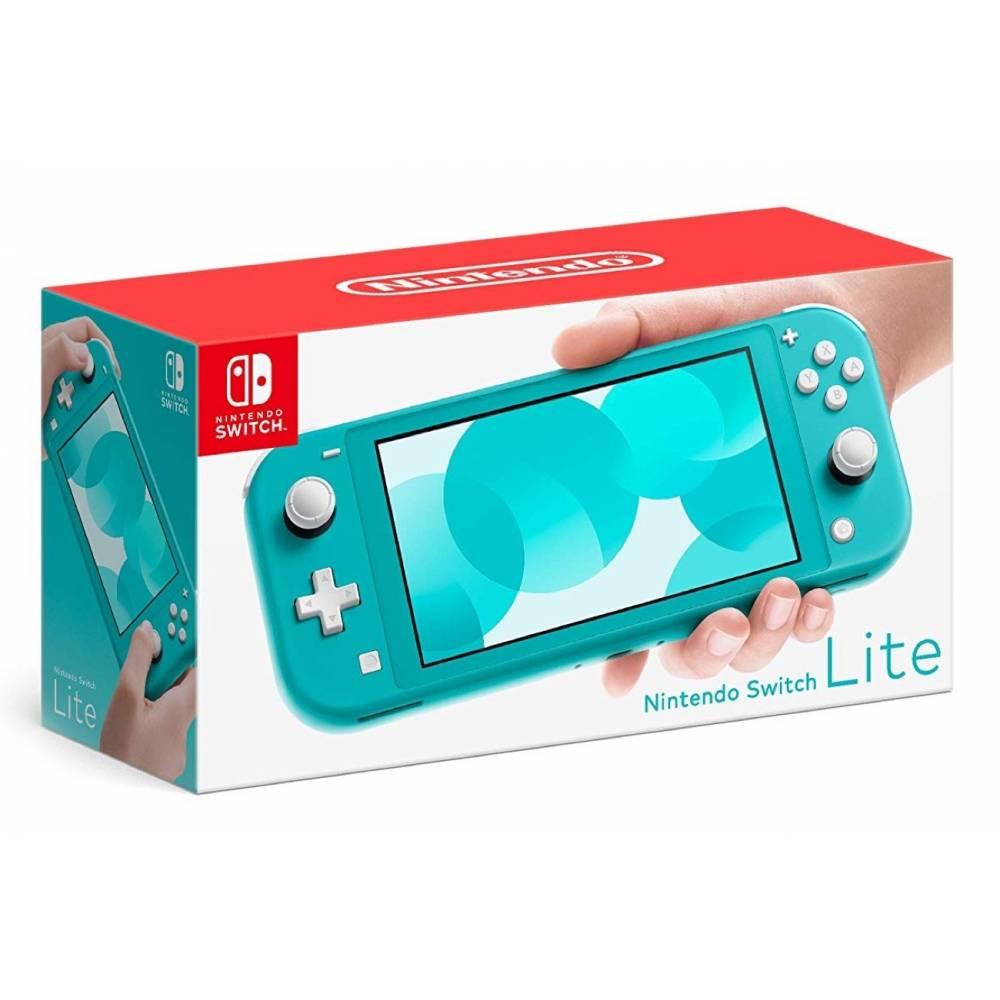 Nintendo Switch Lite Turquoise (Nintendo Switch Lite) фото 4