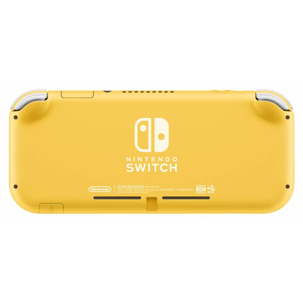 Nintendo Switch Lite Yellow (Чипованная) + microSD 128 Гб + 30 лучших игр (Nintendo Switch Lite) фото 3