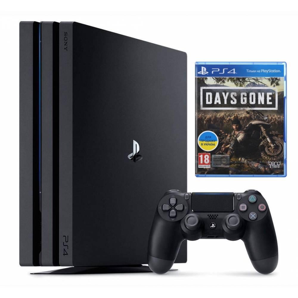 Sony Playstation 4 Pro 1 Тб + Days Gone (Життя після) (PS 4 Pro) фото 2