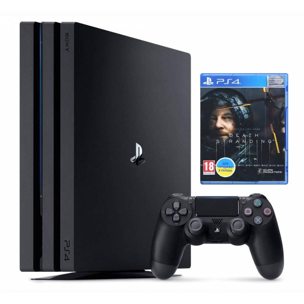 Sony Playstation 4 Pro 1 Тб + Death Stranding (PS 4 Pro) фото 2