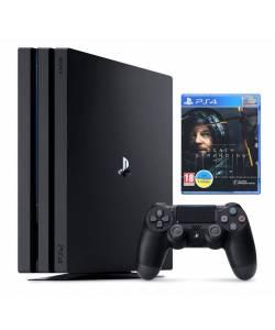Sony Playstation 4 Pro 1 Тб + Death Stranding