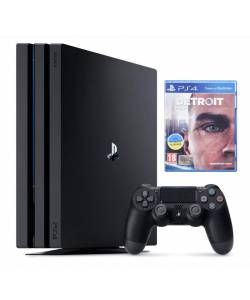 Sony Playstation 4 Pro 1 Тб + Detroit: Become Human (Detroit: Стати людиною)