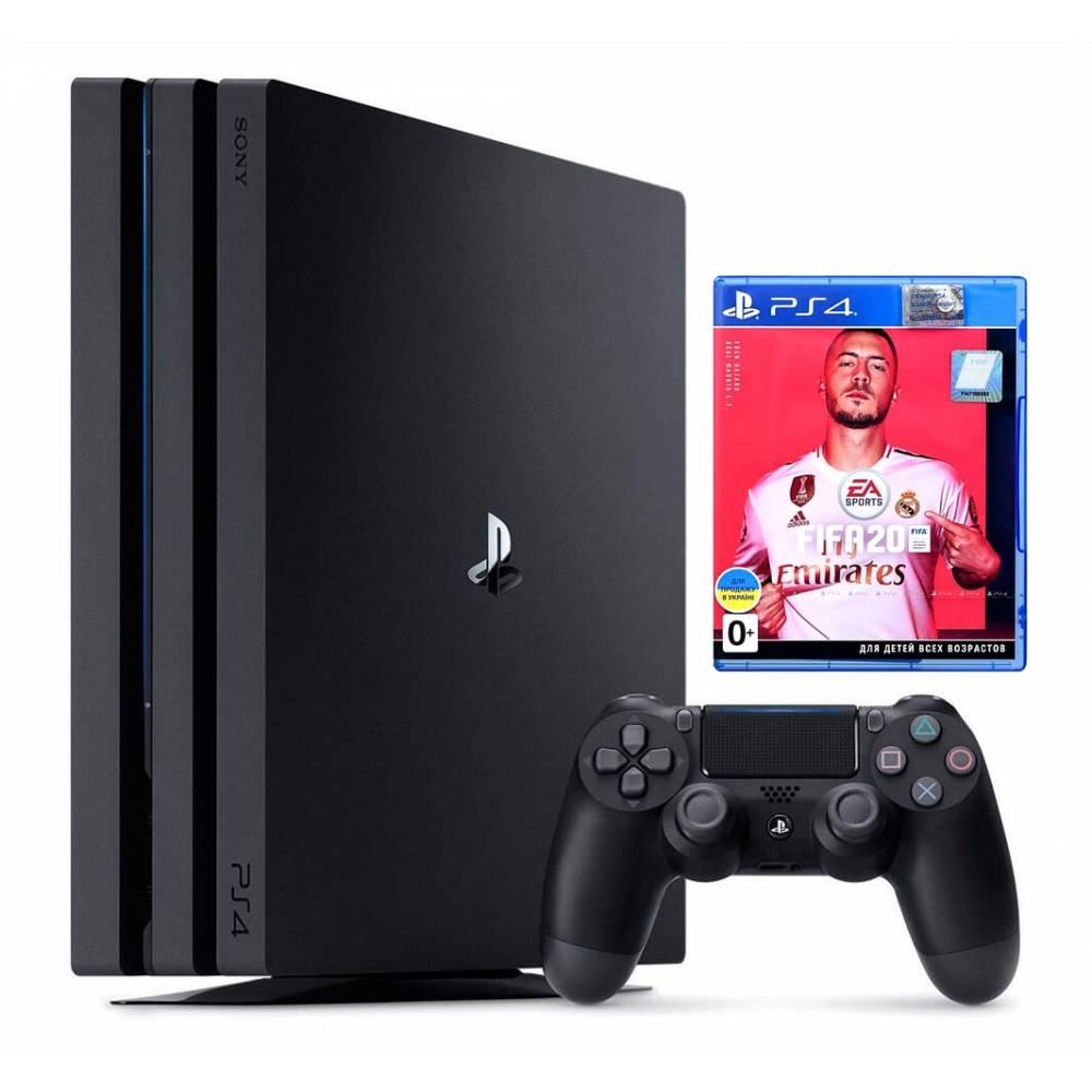 Sony Playstation 4 Pro 1 Тб + FIFA 20 (PS 4 Pro) фото 2