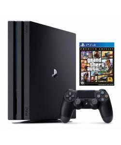 Sony Playstation 4 Pro 1 Тб + Grand Theft Auto V Premium Edition