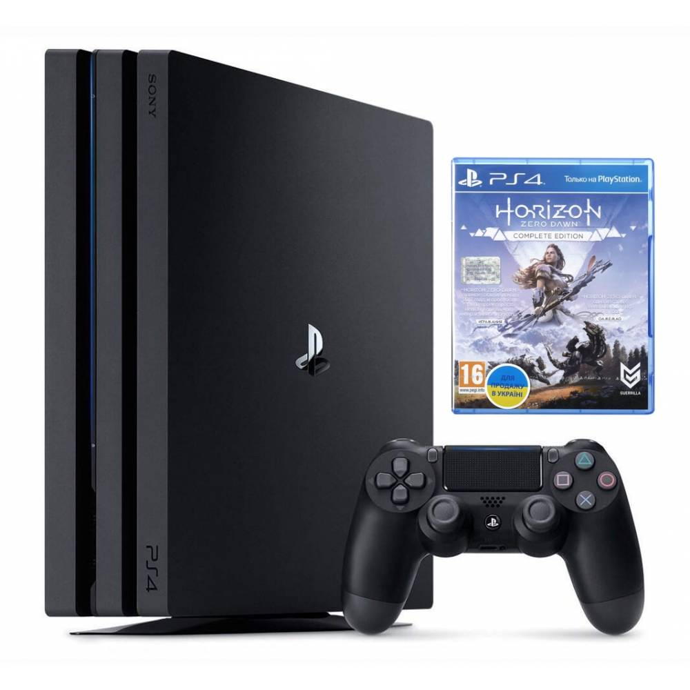 Sony Playstation 4 Pro 1 Тб + Horizon Zero Dawn: Complete Edition (PS 4 Pro) фото 2