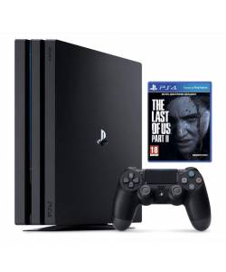 Sony Playstation 4 Pro 1 Тб + Одни из нас. Часть II (The Last of Us Part II)