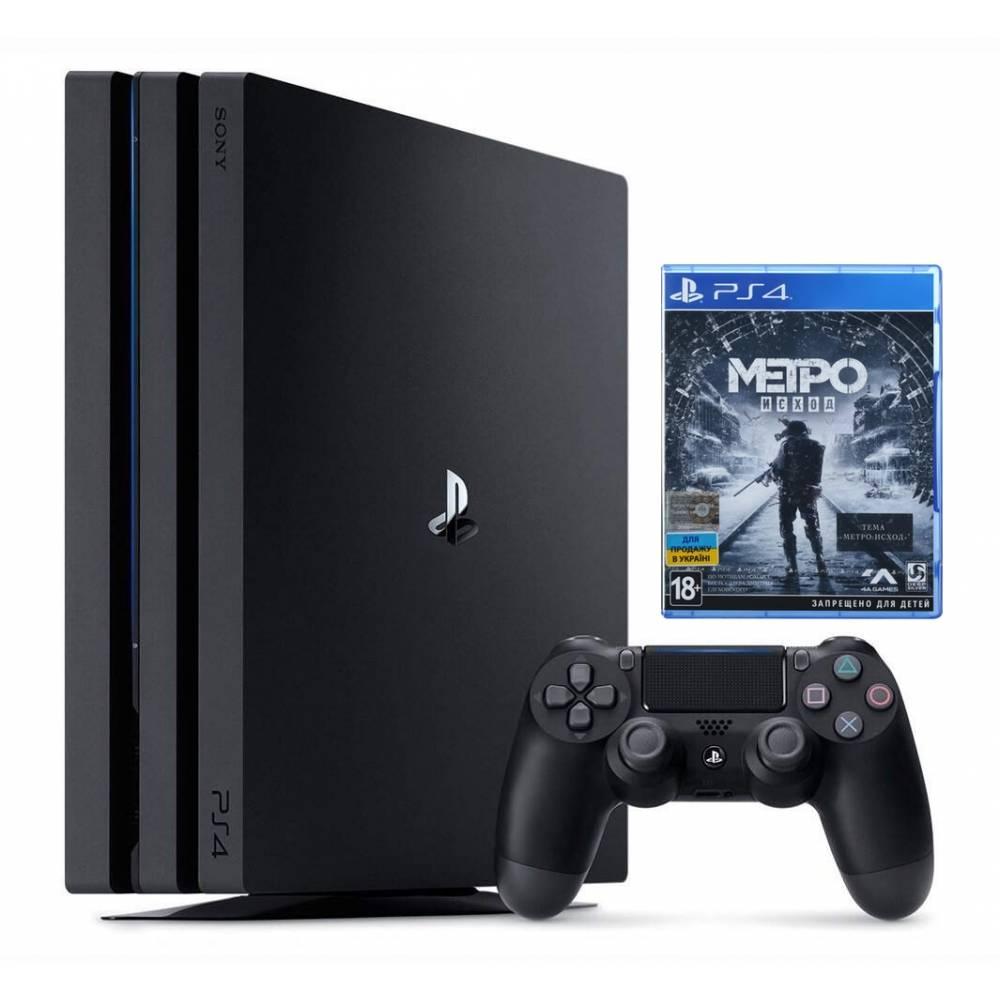 Sony Playstation 4 Pro 1 Тб + Metro Exodus (Metro Исход) (PS 4 Pro) фото 2