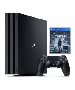 Sony Playstation 4 Pro 1 Тб + Metro Exodus (Metro Исход)