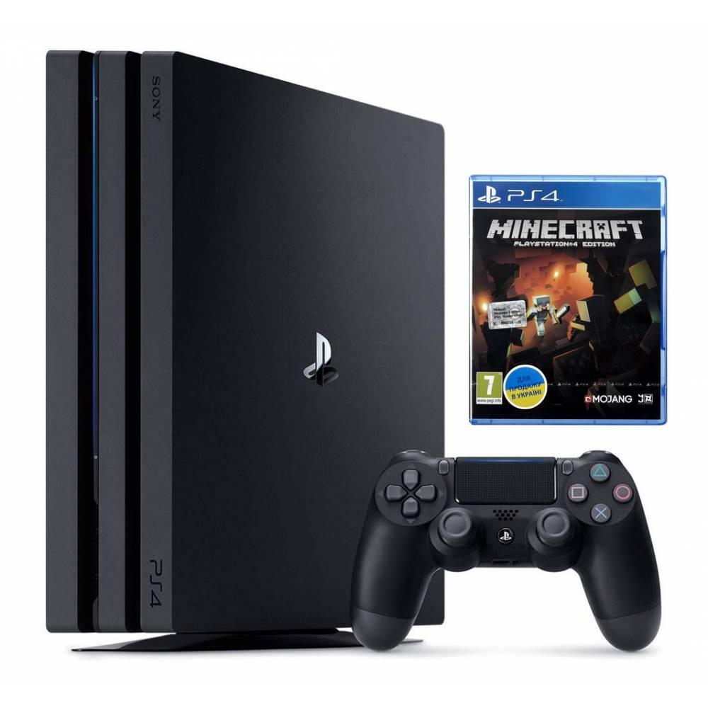 Sony Playstation 4 Pro 1 Тб + Minecraft (PS 4 Pro) фото 2