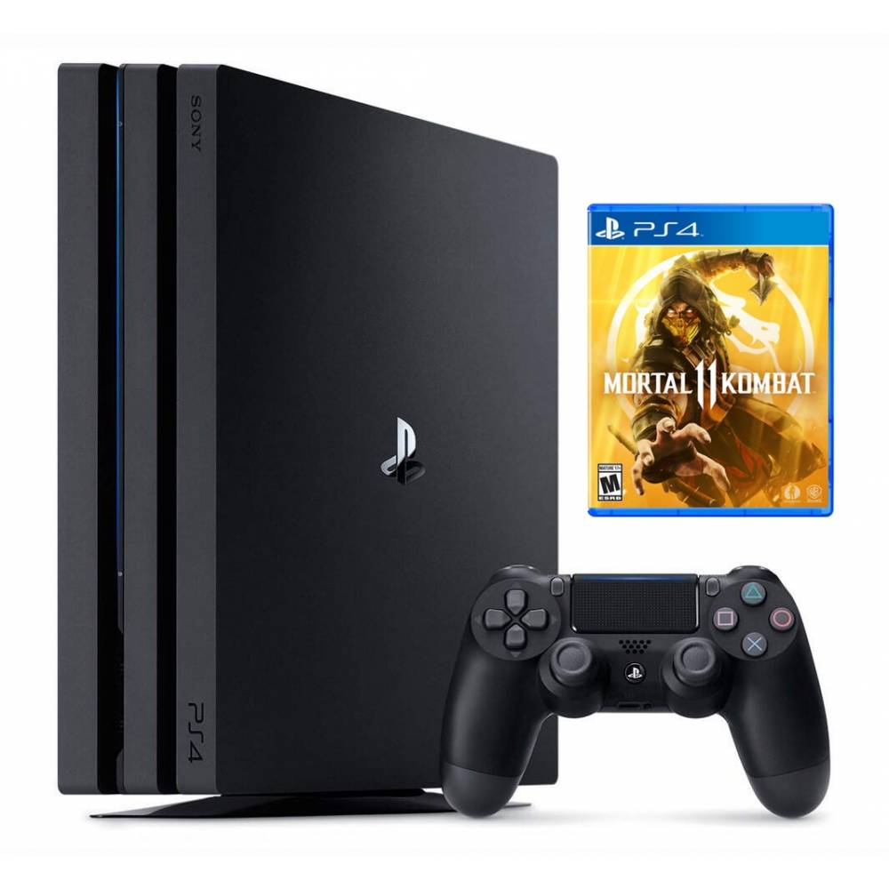 Sony Playstation 4 Pro 1 Тб + Mortal Kombat 11 (PS 4 Pro) фото 2