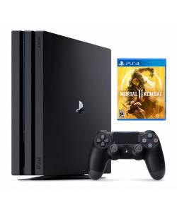 Sony Playstation 4 Pro 1 Тб + Mortal Kombat 11