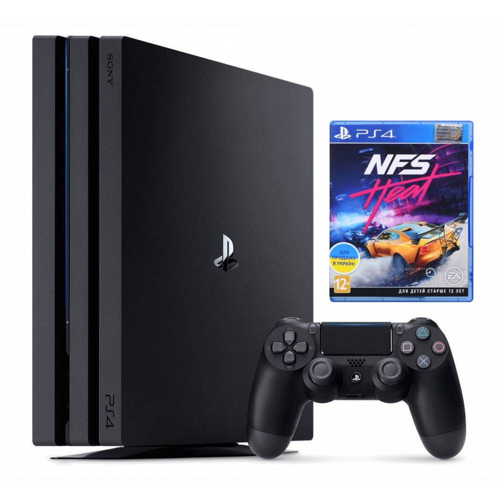 Sony Playstation 4 Pro 1 Тб + Need for Speed Heat (PS 4 Pro) фото 2