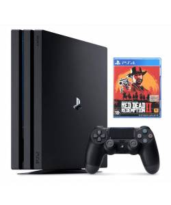 Sony Playstation 4 Pro 1 Тб + Red Dead Redemption 2