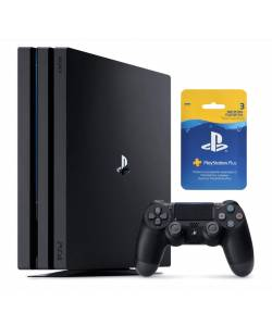 Sony Playstation 4 Pro 1 Тб + 3-місячна підписка PSPlus