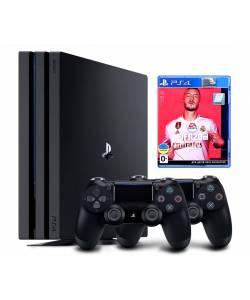 Sony Playstation 4 Pro 1 Тб + Dualshock 4 + FIFA 20