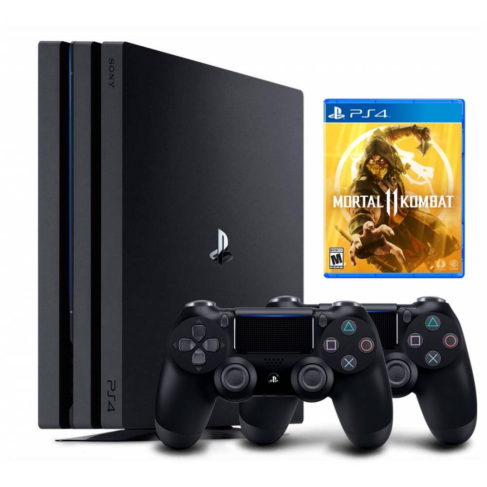 Sony Playstation 4 Pro 1 Тб + Dualshock 4 + Mortal Kombat 11 (PS 4 Pro) фото 2