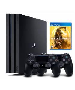 Sony Playstation 4 Pro 1 Тб + Dualshock 4 + Mortal Kombat 11