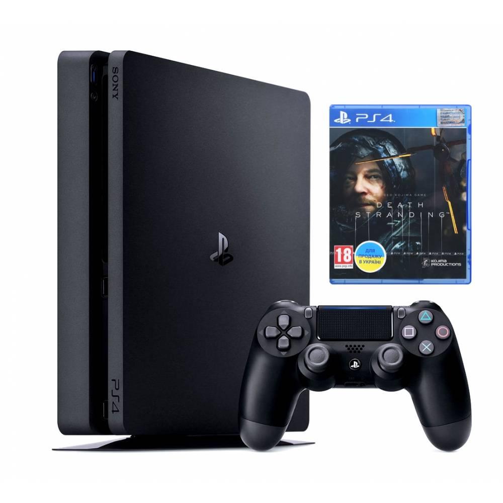 Sony Playstation 4 Slim 1 Тб + Death Stranding (PS 4 Slim) фото 2