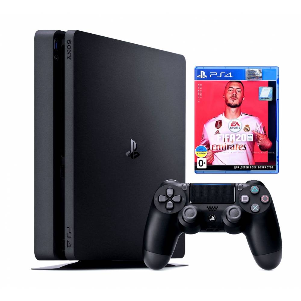 Sony Playstation 4 Slim 500 Гб + FIFA 20 (PS 4 Slim) фото 2