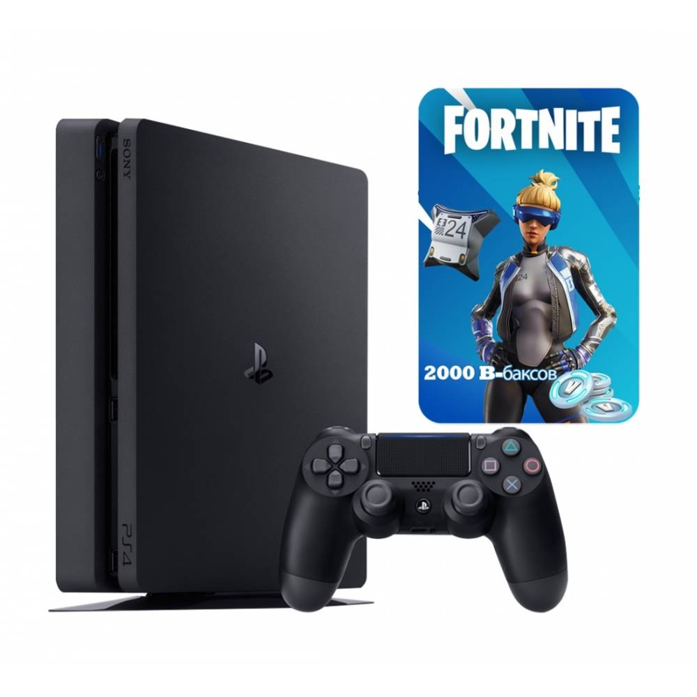 Sony Playstation 4 Slim 1 Тб + Fortnite (PS 4 Slim) фото 2