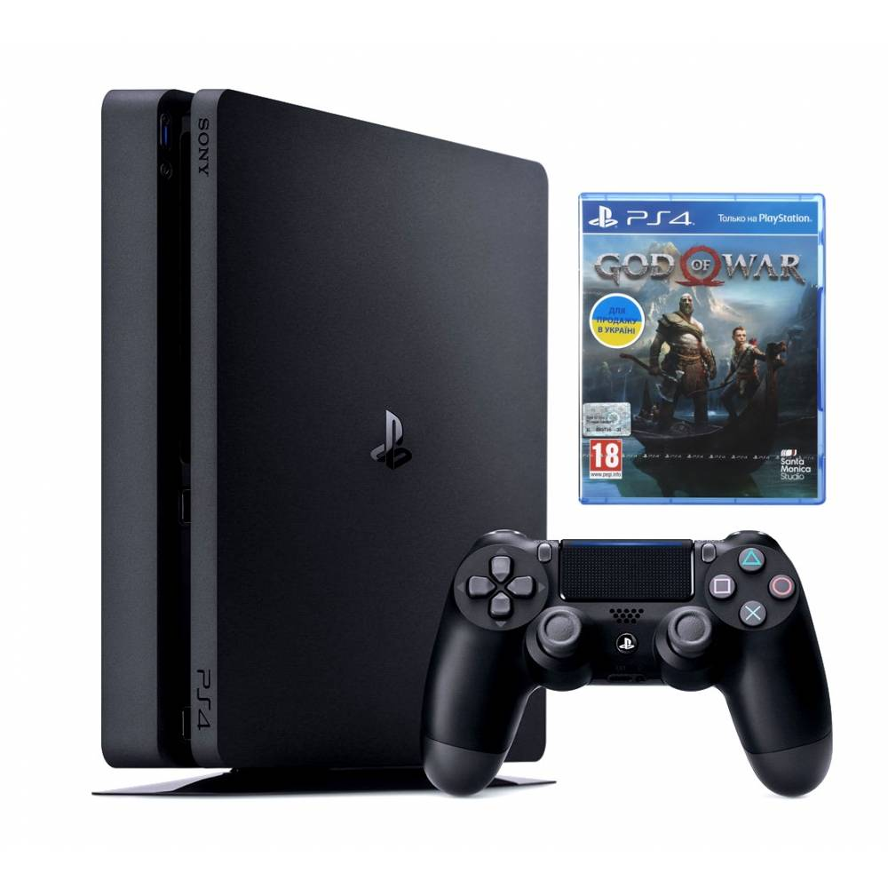 Sony Playstation 4 Slim 500 Гб + God of War (PS 4 Slim) фото 2