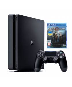 Sony Playstation 4 Slim 500 Гб + God of War