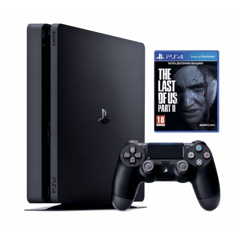 Sony Playstation 4 Slim 1 Тб + Одні із нас. Частина II (The Last of Us Part II) (PS 4 Slim) фото 2