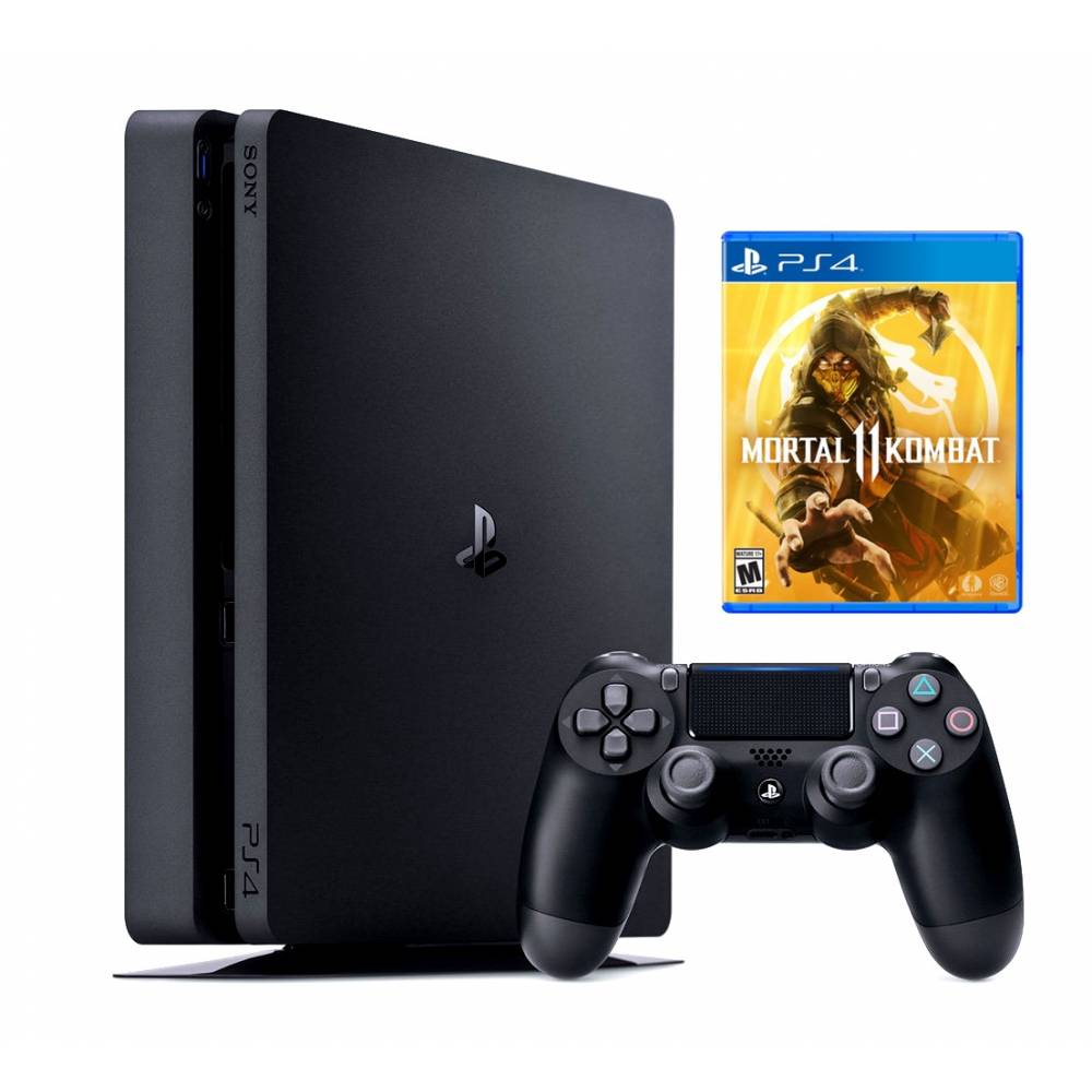 Sony Playstation 4 Slim 500 Гб + Mortal Kombat 11 (PS 4 Slim) фото 2