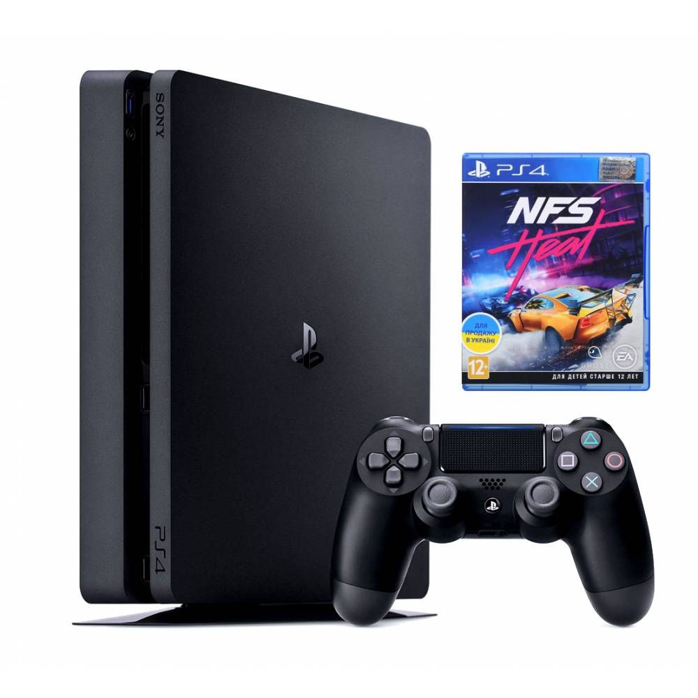 Sony Playstation 4 Slim 1 Тб + Need for Speed Heat (PS 4 Slim) фото 2