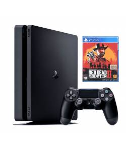 Sony Playstation 4 Slim 500 Гб + Red Dead Redemption 2