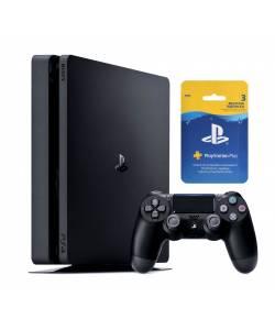 Sony Playstation 4 Slim 500 Гб + 3-місячна підписка PSPlus