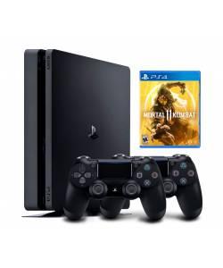 Sony Playstation 4 Slim 500 Гб + Dualshock 4 + Mortal Kombat 11